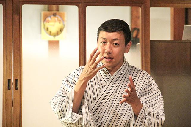 花柳琴臣「日本舞踊と礼儀作法2〜歌舞伎と言葉〜」